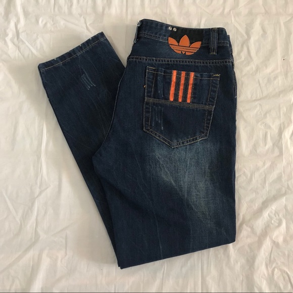 ed1bb0e4d959c Diesel Other - Rare Diesel Adidas Viker AD Distressed Denim Jeans